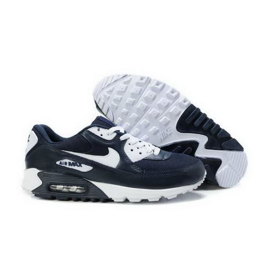 Nike Air Max 90 Mens Shoes Obsidian White Outlet Store, Air