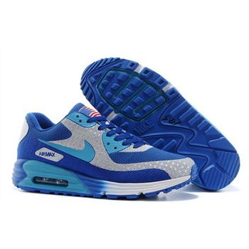 new concept dbf46 f4a34 ... switzerland nike air max 90 hyp prm mens shoes high inside blue gray  hot review e7ead