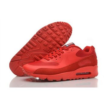 8a7d9a0182a Nike Air Max 90 Hyperfuse Qs Mens Shoes Fur Red All Hot On Sale China
